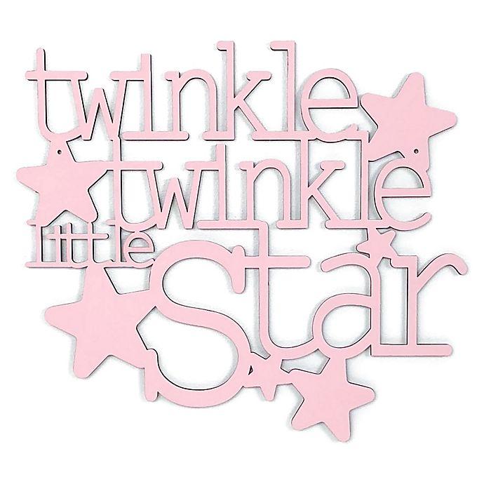 Alternate image 1 for Twinkle Twinkle Little Star 13-Inch x 11.5-Inch Framed Wall Art