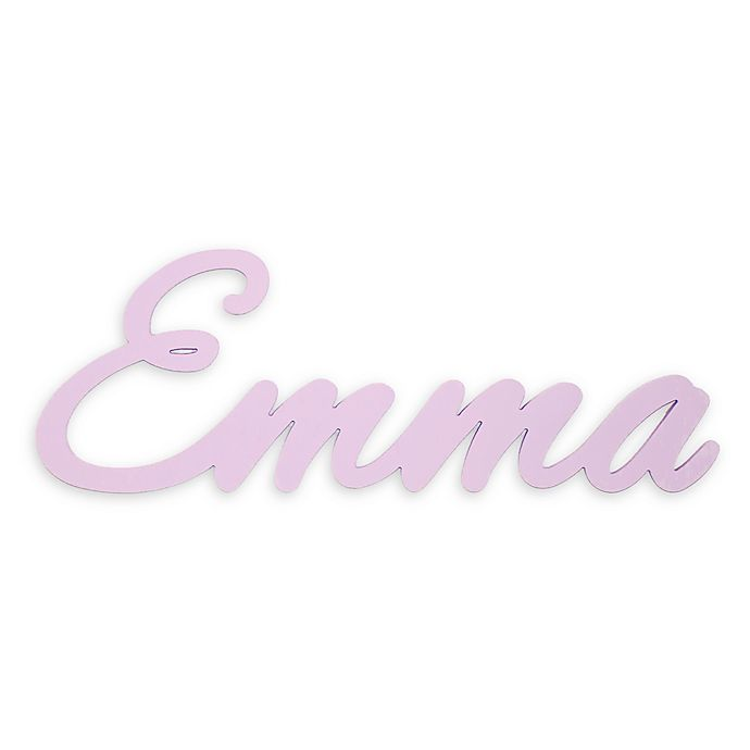 Alternate image 1 for 8-Inch Personalized Wooden Name Sign