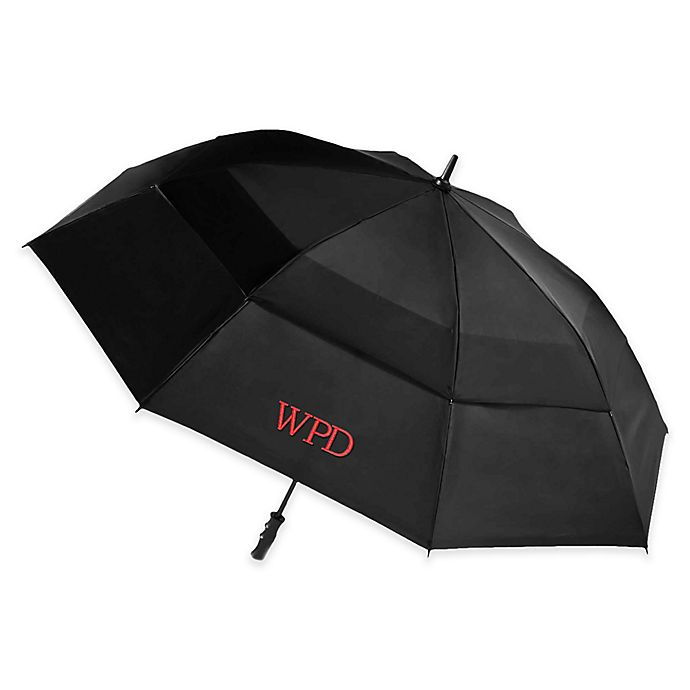 0a2fb7845f04 totes® Stormbeater Vented Umbrella in Black | Bed Bath & Beyond