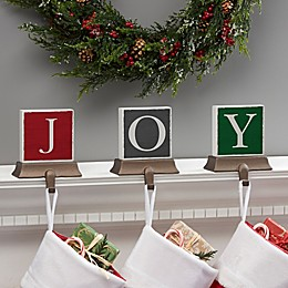 Festive Letter Personalized Stocking Holder