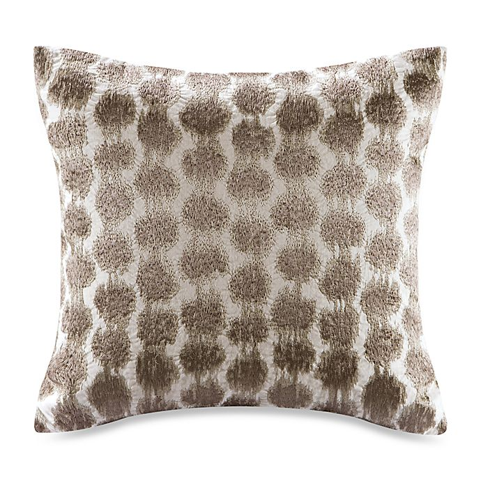 Alternate image 1 for Echo™ Odyssey Square Throw Pillow in Brown/Ivory