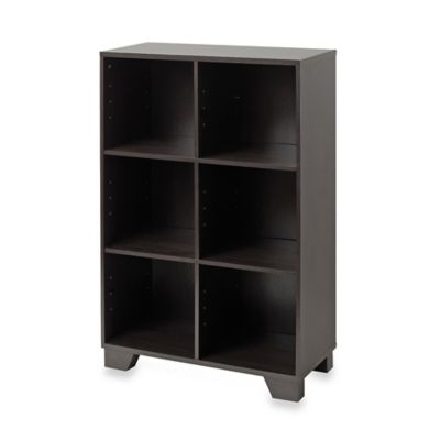 Real Simple 174 6 Cube Storage Unit In Espresso Bed Bath