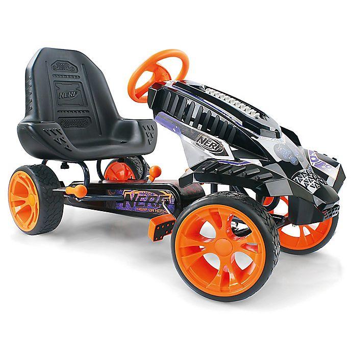 Alternate image 1 for Hauck Nerf® Battle Racer Ride-On Pedal Go-Kart