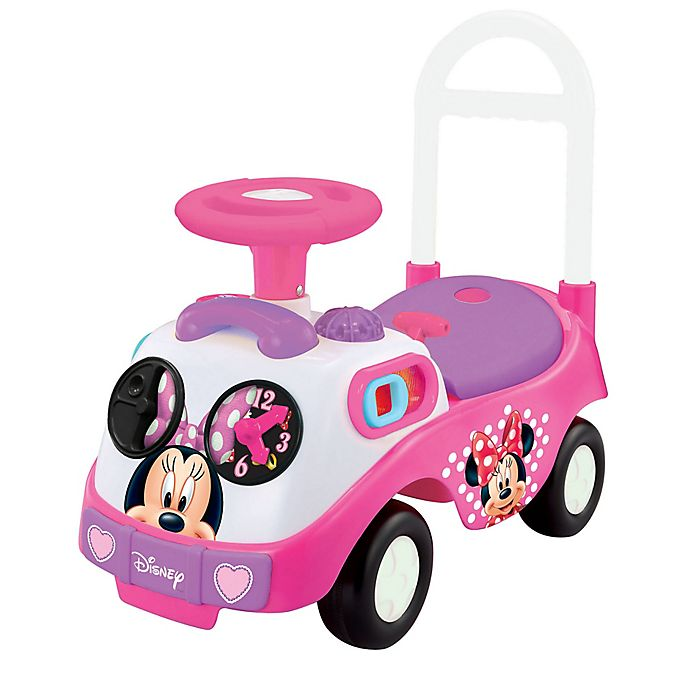 Alternate image 1 for Disney® Minnie Mouse My First Activity Ride-On