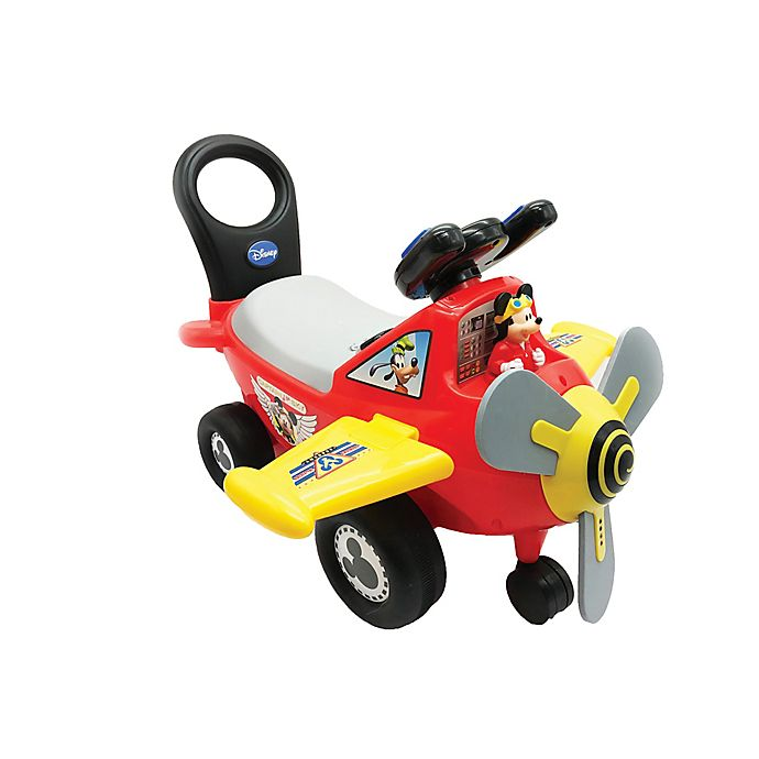 Alternate image 1 for Disney® Mickey Mouse Clubhouse Plane Light & Sound Ride-On