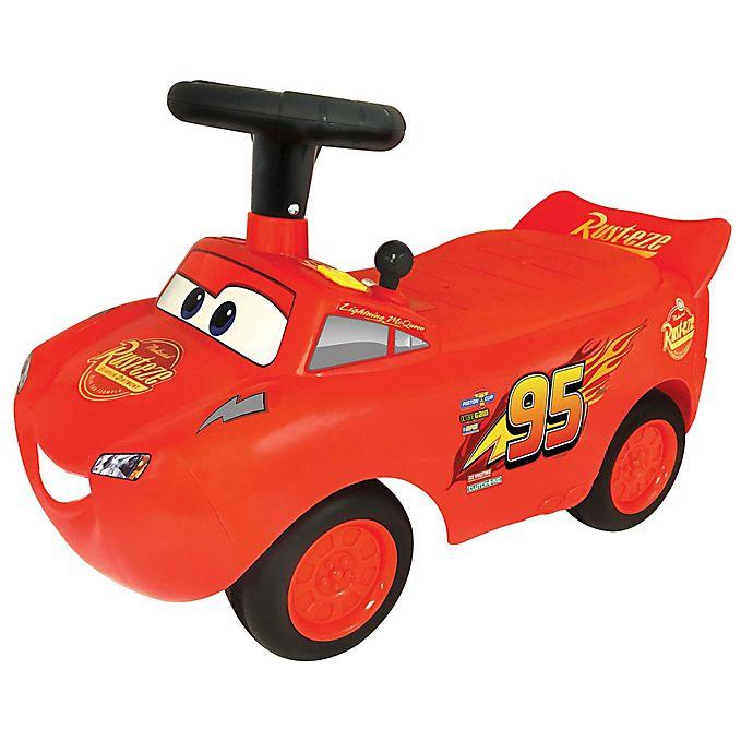 Disney Pixar Cars 3 Lightning Mcqueen Light Sound Ride On Bed