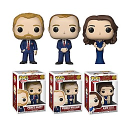 Funko POP! 3-Pack Royals: Royal Family Series 1 Collectors Figurines