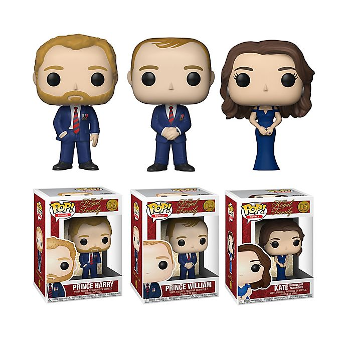 Alternate image 1 for Funko POP! 3-Pack Royals: Royal Family Series 1 Collectors Figurines