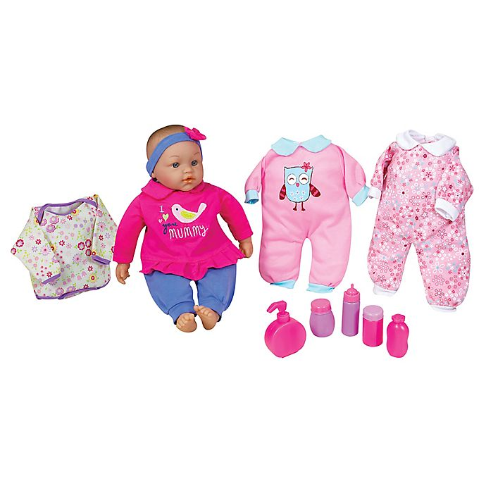 Alternate image 1 for Lissi 15-Inch Baby Doll Set with Clothes and Accessories