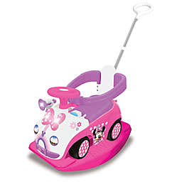 Disney® Minnie Mouse 4-in-1 Activity Ride-On