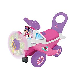 Disney® Minnie Mouse Plane Light & Sound Activity Ride-On