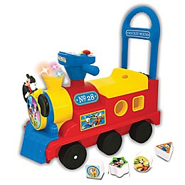 Disney® Mickey Mouse Clubhouse Play n' Sort Train Ride-On