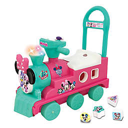 Disney® Minnie Mouse Play n' Sort Activity Train Ride-On