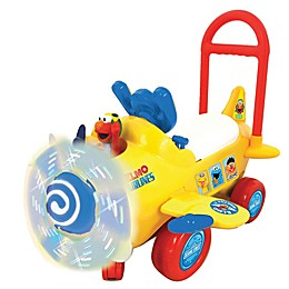 Sesame Street Elmo's Plane Light and Sound Ride-On