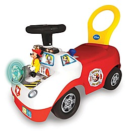 Disney® Mickey Mouse Fire Truck Light and Sound Ride-On