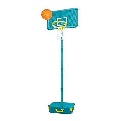 All Surface Basketball Set in Blue/Green