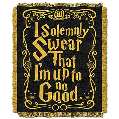 Harry Potter™ In Trouble Woven Tapestry Throw Blanket