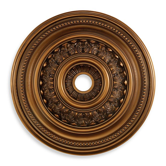English Study 32 Inch Ceiling Medallion