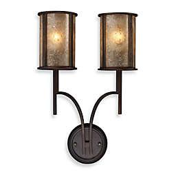 ELK Lighting Barringer 2-Light Sconce in Aged Bronze