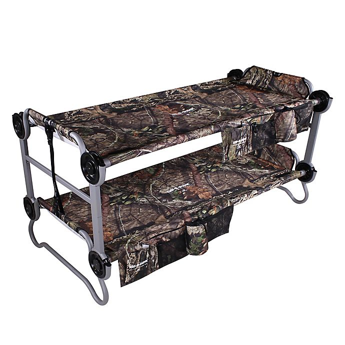 Disc O Bed Kid O Bunk Twin Bunk Cot In Mossy Oak 174 Camo
