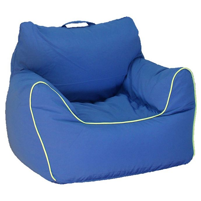 Strange Acessentials Bean Bag Chair In Blue Buybuy Baby Bralicious Painted Fabric Chair Ideas Braliciousco