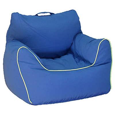 Acessentials® Bean Bag Chair in Blue