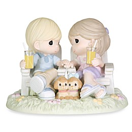Precious Moments® Always Be By My Side Porcelain Figurine