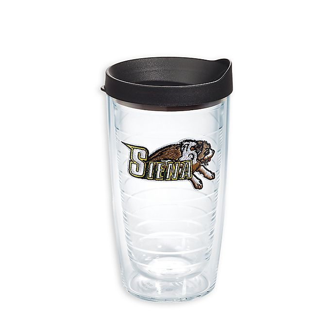 Alternate image 1 for Tervis® Sienna Saints 16 oz. Wrap Tumbler with Lid
