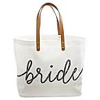 """Mud Pie® """"Bride"""" Tote in White"""