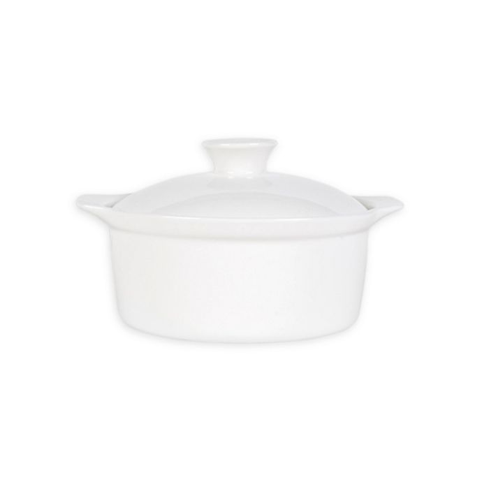 Alternate image 1 for Nevaeh White® by Fitz and Floyd® Lidded Soup Bowl