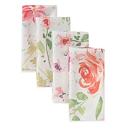 Spring Medley Floral Napkins (Set of 4)