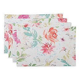 Spring Medley Floral Placemats (Set of 4)