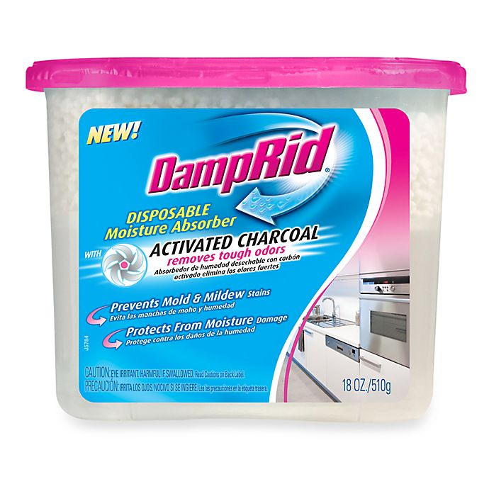 Alternate image 1 for DampRid Disposable Moisture Absorber with Activated Charcoal