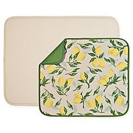 The Original™ 2-Piece Value Pack Dish Mats in Lemon/Cream