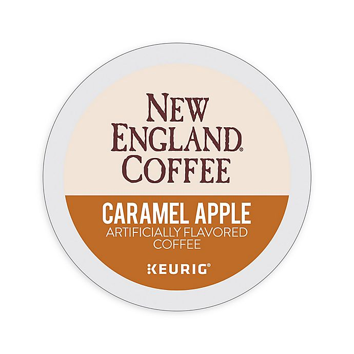 Alternate image 1 for Keurig® K-Cup® Pack 18-Count New England® Caramel Apple Coffee