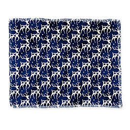 Deny Designs Dashing Throw Blanket in Blue