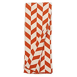 Amity Home Joey Cotton Throw Blanket in Orange