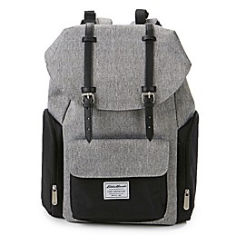 Eddie Bauer® Places and Spaces Legend Backpack Diaper Bag in Grey/Black