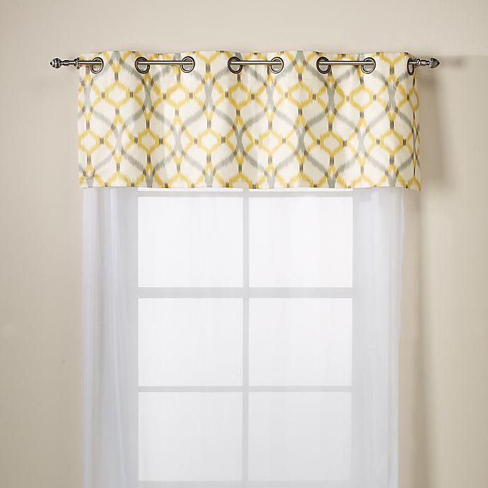 Cotton Grommet Window Valance