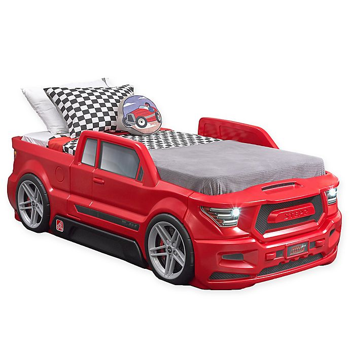 Alternate image 1 for Step2® Turbocharged Truck Twin Bed in Red