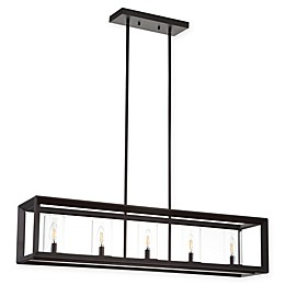 JONATHAN Y Anna Pendant Fixture in Oil Rubbed Bronze