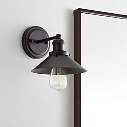 JONATHAN Y August Metal Shade Sconce