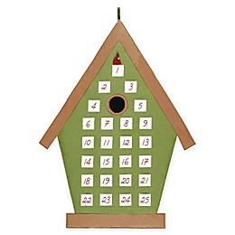 Holiday Bird House Calendar
