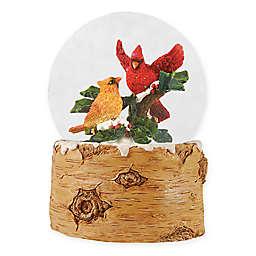 Gallerie II Trail Cardinal Musical Water Globe