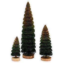 Gallerie II Ombre Trees in Green (Set of 3)