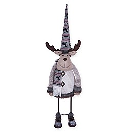 4.75-Foot Gallerie II Moose Bobblehead Decoration in Grey