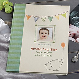 Made With Love Personalized Baby Memory Book