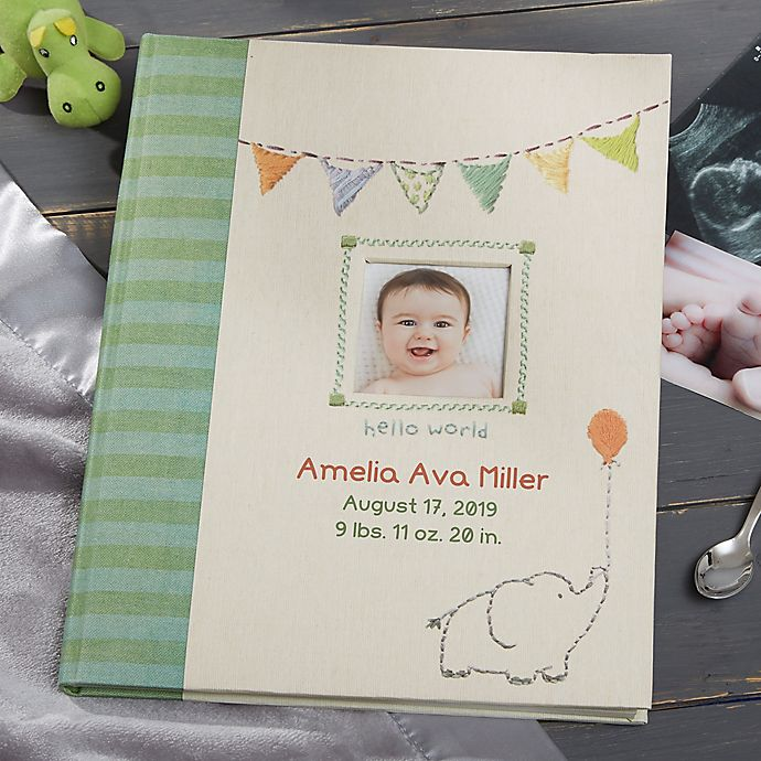 Alternate image 1 for Made With Love Personalized Baby Memory Book