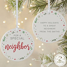 You Are Special Personalized 2-Sided Matte Christmas Ornament