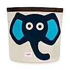 3 Sprouts Blue Elephant Storage Bin